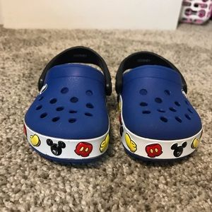 Mickey Mouse crocs size c4